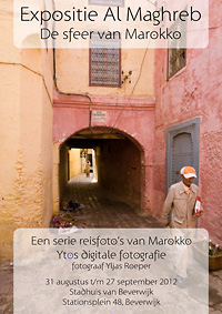 Poster Expositie Al Maghreb